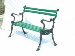 Outdoor Patio Cast Iron Bench
