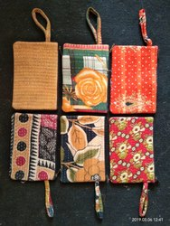 10 Vintage Cotton Old Kantha Clutch Bags Wristlets India B11K