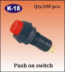 K-18 Push On Switch