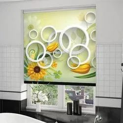 PVC Touch 3D Blinds for Indoor