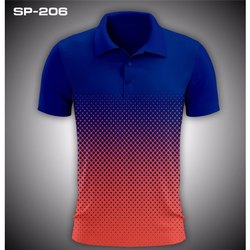 Polyester Mens Polo T Shirt