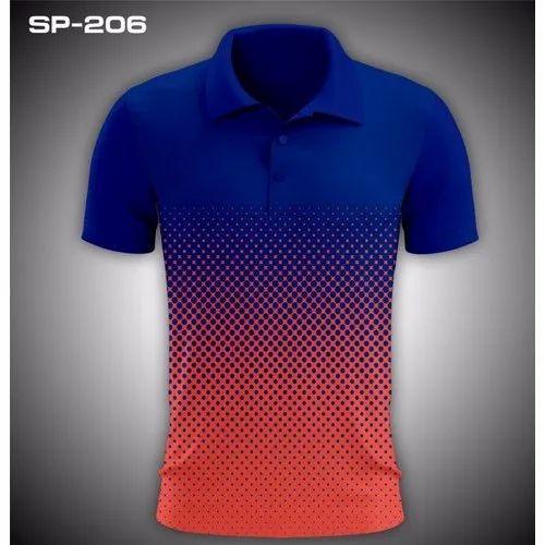 7b23c42d Polyester Mens Polo T Shirt, Rs 220 /piece, Vighnaharta Enterprises ...