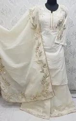 Cotton Sharara Suit