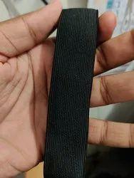Black Woven Elastic
