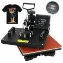 With Color Printing Sublimation T Shirt Printer, Model Name/number: 5 In 1 Combo Machine, 220 V