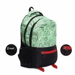 Generation- Blk-Green School Bag