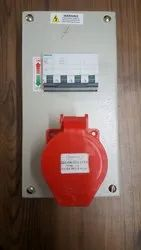 Industrial Extension Board 3 phase, Operating Voltage: 230/415 V