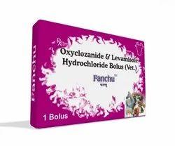 Oxyclozanide & Levamisole Hydrochloride Bolus(Vet)