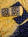 Cotton Rasam Work Dress Material