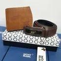 Leather Wallet & Belt