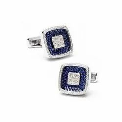 Blue Diamond Cufflink