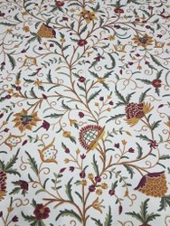 Lucky Danz Dar Crewel  Fabric