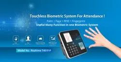 Realtime T401F Touch Less Palm Reader Attendance Machine and Time Recording System