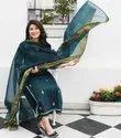 Designer Palazzo  Suit