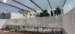 Parapet Fencing Wall Clear