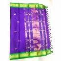 Designer Paithani Border Soft Silk Saree