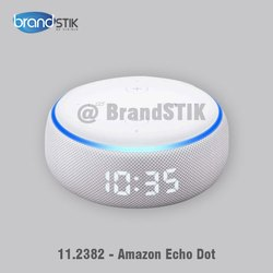 Echo Dot (3rd Gen) With Clock