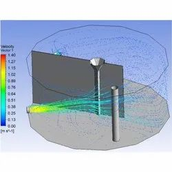 1 Week - 12 Week Engineering Services Type FEA CAE and CFD Service, in India