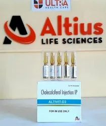 Vitamin D3 Injection (600 000 IU) Injection