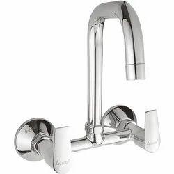 Brass Sink Mixer Chrome Plated