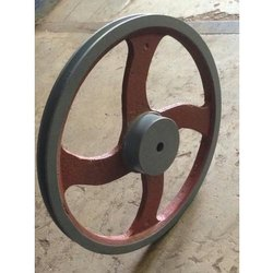 Single Cast Iron Pulley