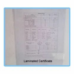 Lamination Removing Service