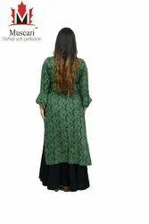 Muscari Rayon Ladies Suits, Handwash, Size: L To Xxxl