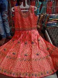 Wedding Wear Designer Kids Anarkali Suit