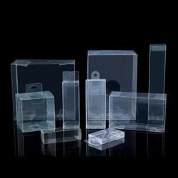 PET Packaging Clear Folding Boxes