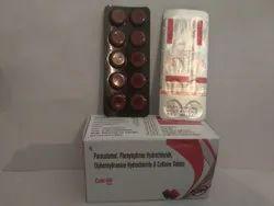 Paracetamol, Phenylephrine Hydrochloride, Diphenhydramine Hydrochloride & Caffeine Tablets