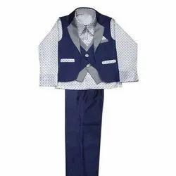 Party Wear Kids Cotton Suit