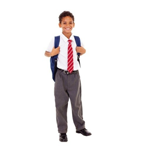 Half Sleeves Aradhana Dresses Boys School Uniform, Rs 450 /set | ID:  20687632630