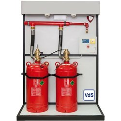 Rack Mounted Gas Suppression System