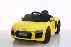 Yellow 2 Motor Battery Operated Car