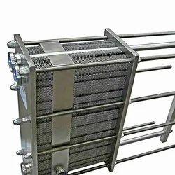 MICROTECH ENGINEERING Mild Steel Plate Heat Exchanger, For Industrial, Standard