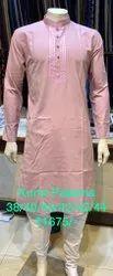 Linen Wedding Wear Kurta Paijama, Dry clean