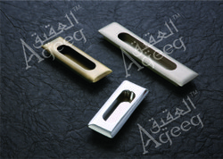 Chrome Concealed Handle, for Cabinet