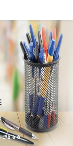 Pen Stand Steel  (Black)