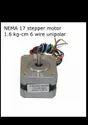 NEMA 17 Stepper Motor 1.6 Kg-Cm 6 Wire Unipolar -  Robocraze