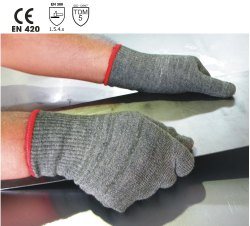 GTA15/FRZ Para-aramid Seamless Knitted Gloves