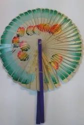 Designer Palm Leaf Hand Fan