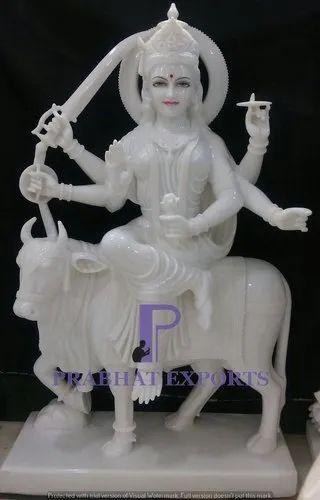 Umiya Maata Ji With Stone Work Statues