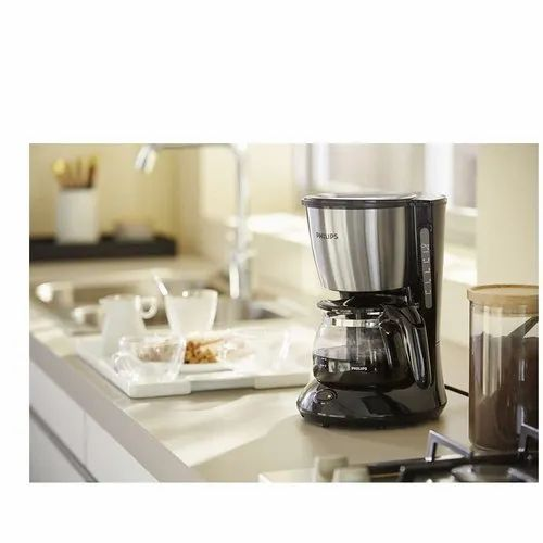 8f4afbc8e75 Black   Metal Philips HD7434 20 0.6 L Daily Collection Coffee Maker ...