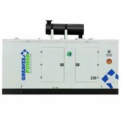 Greaves Power 250 KVA Air Cooled Diesel Generator Sets