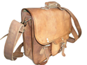Vintage Leather Office Bag Cum Backpack