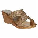 Rohit Shoe Wedding Wear Fancy Wedding Bridal Sandal, Size: 6-9