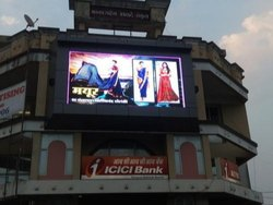 Big Outdoor LED Advertising Screen