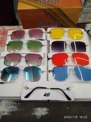 Trendy Metal Frame Sunglasses
