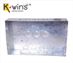 6 Way GI Modular Box