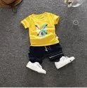 Multicolor Regular Wear Kids Summer Clothing, Size: 24.0